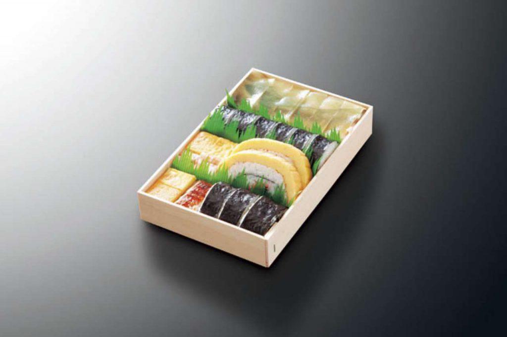 お寿司中折り1,650円(税別)