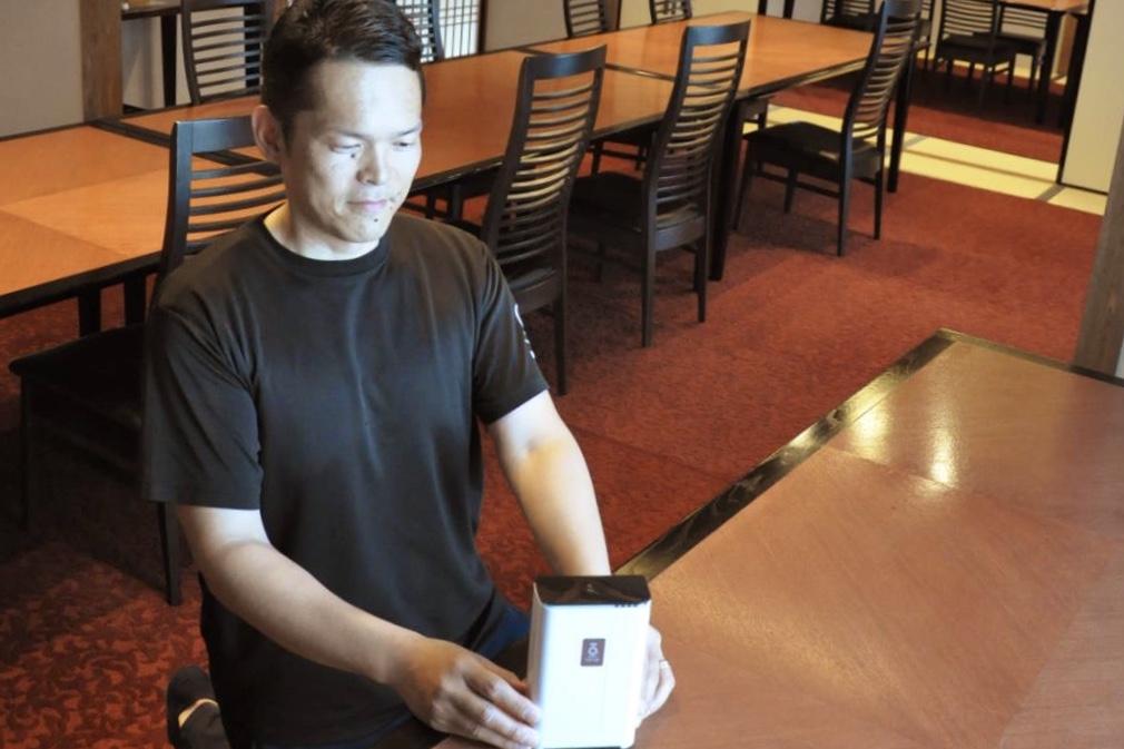 和歌山レストラン「あんちん」コロナ対策オゾン発生器